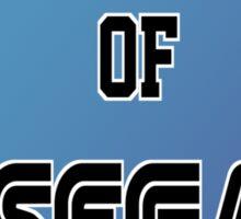 University of Sega Sticker