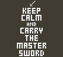 Keep Calm and Carry The Master Sword Unisex T-Shirt