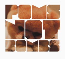 Poms Not Bombs Fluffy by Alan Craker