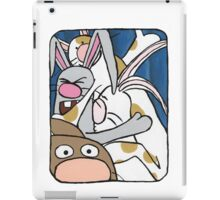 Awesome Bunny Photobooth #1 of 4 iPad Case/Skin