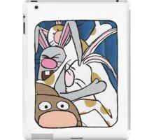Awesome Bunny Photobooth #1 of 4 iPad Case/Skin