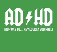 ACDC ADHD Highway To Hey Look A Squirrel by Alan Craker