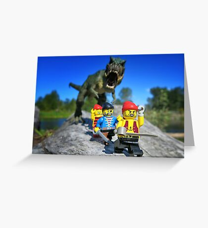 Arrr-grrr-arrr! Greeting Card