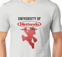 University of Nintendo Unisex T-Shirt
