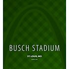Minimalist Busch Stadium - St. Louis by pootpoot