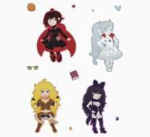 team rwby! by sharkgills