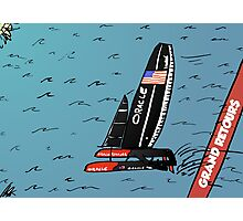 Quand Oracle Team USA gagner l'America's Cup Photographic Print
