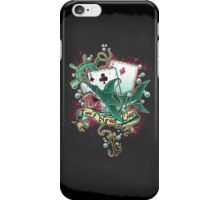 Poker Shark (black)  iPhone Case/Skin