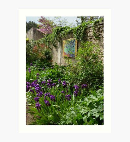 France - Van Gogh Garden Art Print