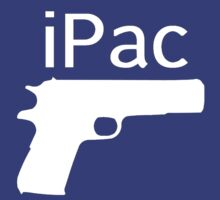 iPac Gun Pistol 9mm 2nd Amendment AK47 AR15 Gun Rights  by Alan Craker
