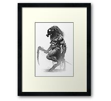 Survivor Slayer Framed Print
