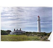 Lighthouse Perspective Poster