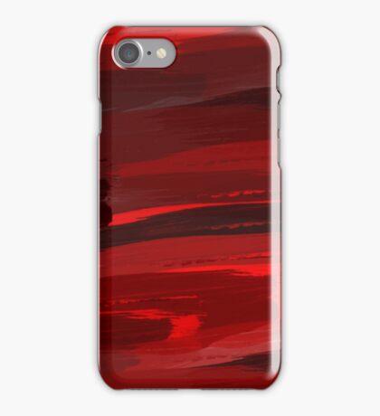 redish red iPhone Case/Skin