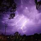 Lightning Running Man by Paul  Donaldson