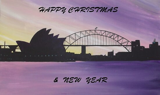 AUSSIE CHRISTMAS IN THE HARBOUR by jansimpressions