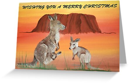 ULURU CHRISTMAS by jansimpressions