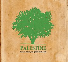 Palestine olive tree T shirts & Gifts by darweeshq