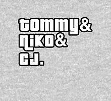 Tommy, Niko, CJ Unisex T-Shirt