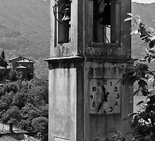 Lake Como Clock Tower by Adrian Alford Photography
