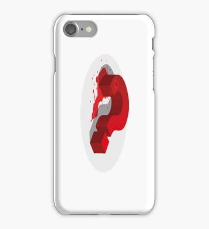 Kill the Questions… iPhone Case/Skin