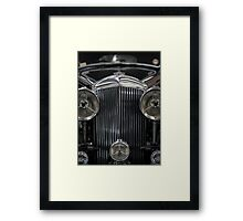 The Age of Beautiful Cars and Ugly Empires, In Memoriam Framed Print