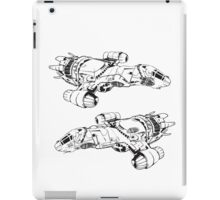 serenity firefly coming and going iPad Case/Skin