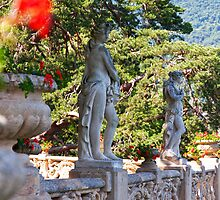 Balbianello Statues by Adrian Alford Photography