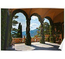 Arches Of Balbianello  Poster