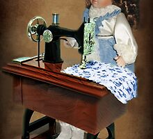✿♥‿♥✿ SEWING IS WHAT I LIKE TO DO -DOLL & SEWING MACHINE ✿♥‿♥✿ by ╰⊰✿ℒᵒᶹᵉ Bonita✿⊱╮ Lalonde✿⊱╮