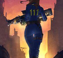 Fallout 4 Wanderer  by Colxbat
