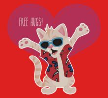 Freeee hugss! miauu Kids Clothes