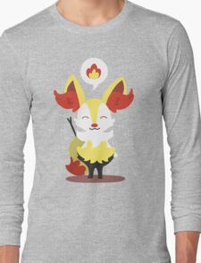 Choose Your Evolution: Fire Long Sleeve T-Shirt