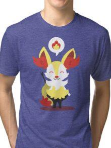 Choose Your Evolution: Fire Tri-blend T-Shirt