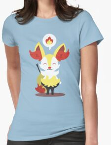 Choose Your Evolution: Fire Womens Fitted T-Shirt