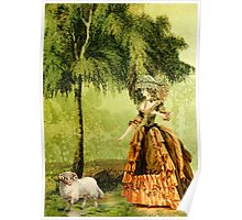 Pastoral Lady Poster