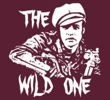 Marlon Brando the wild one t-shirt by parko