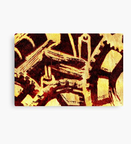 Industrious hell Canvas Print