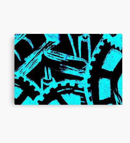 Industrious Movement Canvas Print