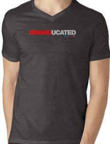 Smangucated Mens V-Neck T-Shirt