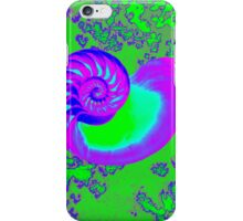 Color growth, nautilus shell iPhone Case/Skin