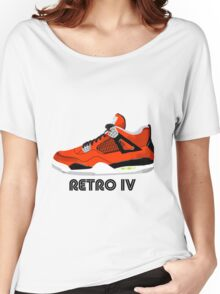 Retro IV Women's Relaxed Fit T-Shirt