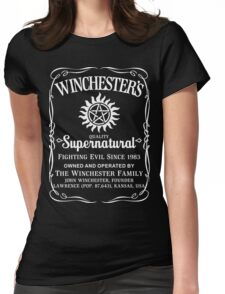 Supernatural Quality Womens Fitted T-Shirt