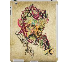 Typo Nikola Tesla design iPad Case/Skin
