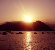 San Sebastián Sunset by DebPhotography