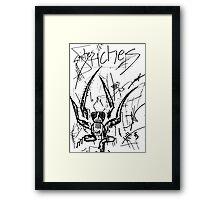 095 Framed Print