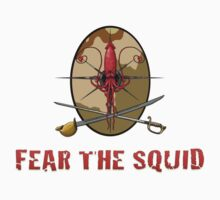 Fear the Squid by SandSquid