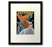 Cryptids Framed Print