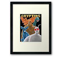 Cryptids Framed Print