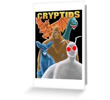 Cryptids Greeting Card