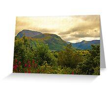 Ben Nevis, Scotland, UK Greeting Card